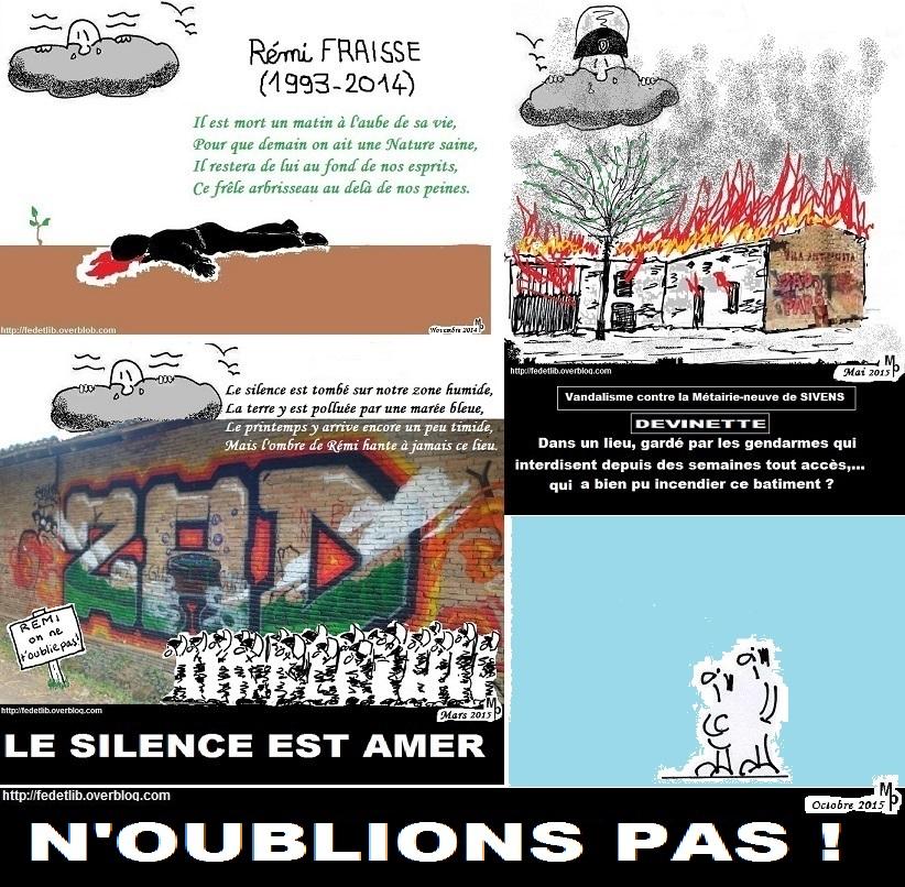 Rémi Fraisse 1993-2014
