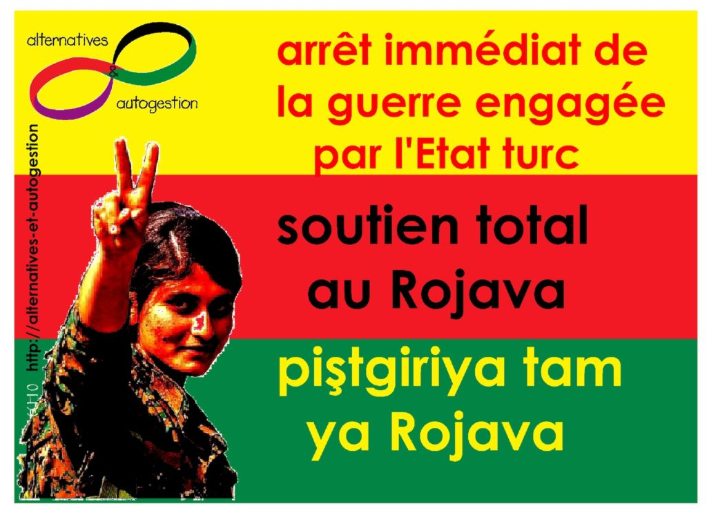 Soutien international au Rojava, Kurde
